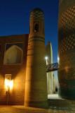 Khiva, Mohammed Amin Khan Medressa and Kalta Minor Minaret