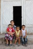 Khiva, Uzbek family