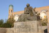 Khiva, Al-Khawarizmi statue