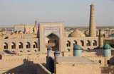 Khiva from the Kuhna Ark lookout