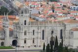 Jerónimos from the Padrão dos Descobrimentos lookout