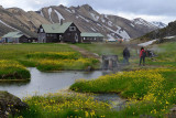 Landmannalaugar, returning to the camp