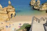 Camilo beach, Algarve, Portugal