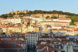 Lisbon view from Santa Justa Elevator