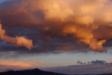 Sajama National Park, sunset at Sajama village