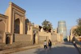 Khiva, Sayid Alauddin Mausoleum and Kalta Minor Minaret