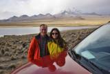Francisca and Paulo at Sajama National Park