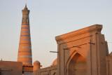 Khiva, Abdulla Khan Medrassa and Islom-Hoja Minaret