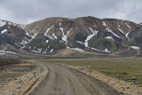 Road F208 near Landmannalaugar