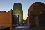 Khiva, Sayid Allaudin Mausoleum and Kalta Minor Minaret
