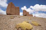 From La Paz to Sajama National Park, Chullpas near Curahuara
