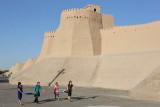 Khiva, outside the city walls