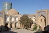 Khiva, Mohammed Amin Khan Medressa (Hotel Orient Star) and Kalta Minor Minaret
