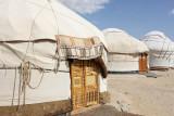 Ayaz Kala, traditional yurt tents