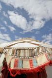 Ayaz Kala, traditional yurt tent