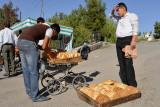 Tashkent, near the market