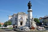 Campo Santana, Statue of Dr. Sousa Martins