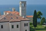 Porec, view from the tower of Euphrasian Basilica