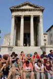 Pula, Temple of Augustus