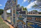 Mapoch, near Siyabuswa, Ndbele traditional paintings