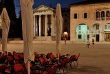 Pula, Temple of Augustus and Town Hall