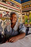 Mapoch, near Siyabuswa, at a Ndbele house