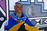 Kghobwana Cultural Village, the Ndbele Artist Esther Mahlangu