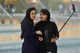 Esfahan, selfie at Nasqh-e Jahan Square