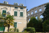 Pula, second floor, the place where we stayed