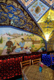 Esfahan, traditional teahouse near Vank Cathedral