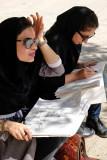 Esfahan, drawing at Vank Cathedral