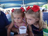 TEAGAN AND PRESLEY SHARED A SMOOTHIE