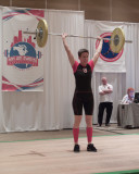 51kg clean and jerk Pan Am Masters