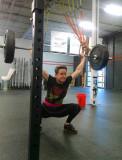 123 pound overhead squat