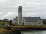 A church in Selfoss.