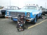 Voiture de police NYPD Dodge Monaco 1977