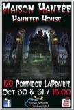 Maison Hantée LaPrairie Haunted House 2014