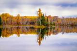 Audie Lake, late fall