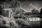 Hyde's Mill in B&W