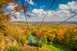 Chairlift ride