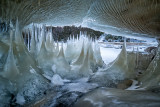 A different kind of ice cave