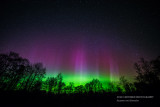 Northern Lights are dancing