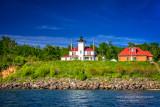 Lighthouse on Raspberry Island