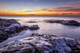 Dawn near Split Rock lighthouse