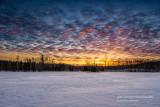 Sunset at Audie Lake 2