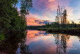 Audie Lake sunset 1