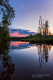 Audie Lake sunset 2
