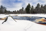 Winter day at the Flambeau River
