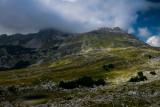 Upper Poscenska Valley with Sedlena Greda 2227m behind, Durmitor NP