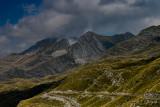 Sareni Pasovi 2248m and Prutas 2393m behind, Durmitor NP